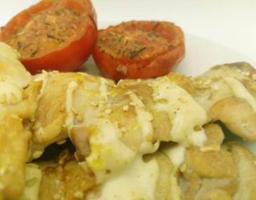 Contracuixa de pollastre amb salsa de soja i gingebre